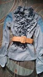 Классная блузка-рубашка