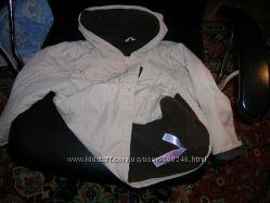 Куртка НА 6-7 ЛЕТ с капюшоном на флисе