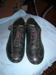 Туфли жен. Экко кожаные р. 38 ст. 24-24, 5 см