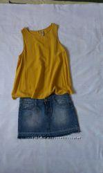 мини-юбка джинсовая Tally Weijl размер 38М