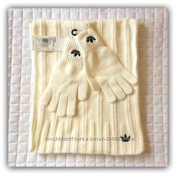 Комплект шарф перчатки Adidas Originals SCARF GLOVE оригинал. 1000 отзывов