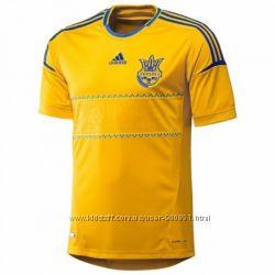 Футболка сборной Украины Adidas FFU Home Jersey X11627. оригинал.