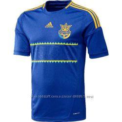 Футболка сборной Украины по футболу Adidas FFU Away JSY X11605. оригинал.