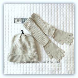 Комплект шапка и перчатки Adidas Yatra Glove E81807 E81805. оригинал.