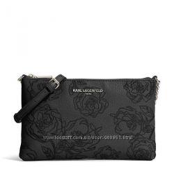 Сумка кожаная кроссбоди Karl Lagerfeld Paris LH8EU396 оригинал 2300 отзывов