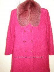 Красивое пальто мохер зимнее