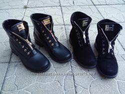 Ботинки Реплика Balmain натуральная кожа, замш