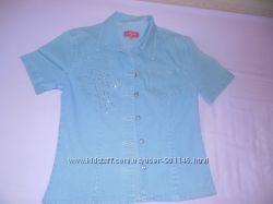 Джинсоавя рубашка