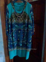 Нарядное платье большого размера, новое, пролет
