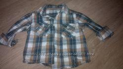 Рубашка 9-12 міс 80 см Rebel