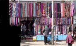 Много текстиля, ассортимент и цена на любой вкус