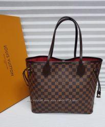 Стильная большая вместительная сумка шоппер от louis vuitton LV