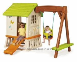 Дом Сладкие мечты с горкой и качелями, Smoby 810601