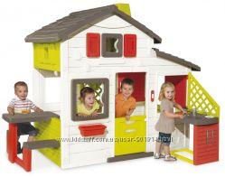 Домик игровой для друзей с кухней и подачей воды Smoby 810201
