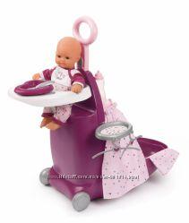 Набор Smoby Baby Nurse Прованс раскладной чемодан 3 в 1 220346