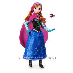 Классическая кукла Анна Дисней с кольцом для ребенка Anna Frozen Disney США