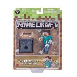 Стив со стрелами фигурка Майнкрафт Minecraft Steve with Arrows Figure Pack