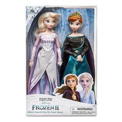 набор кукол Анна и Эльза Холодное сердце 2 Queen Anna and Snow Elsa Frozen