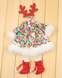 Рождественский набор одежды Блайз, Пуллип, Айси одежда 3 предмета костюм