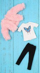 набор одежды для куклы Блайз Пуллип, Айси. Одежда Blythe ICY pullip манто