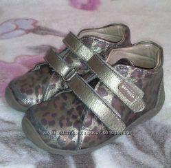 Леопардовые ботиночки garvalin 24 размер