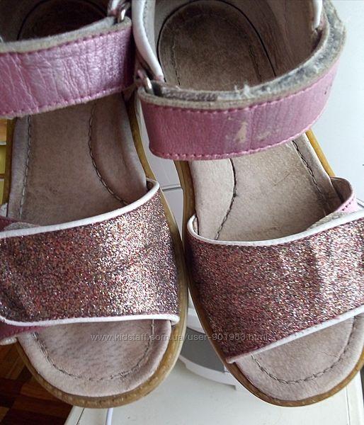 Босоножки кожаные ортопедические 26 р. Eleven Shoes