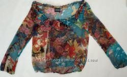 Красивая шифоновая блузочка в идеальном состоянии