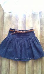 Вельветовая юбочка на девочку