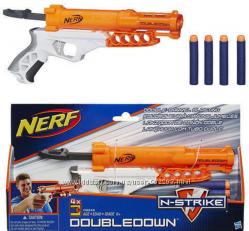 Бластер Нерф. Даблдаун. Nerf N-Strike Doubledown