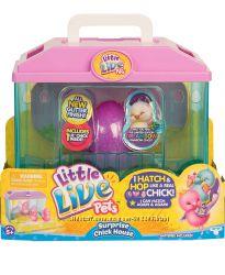 Little Live Pets Chick. Интерактивный цыпленок с домиком
