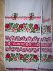 рушники вышивка крестиком