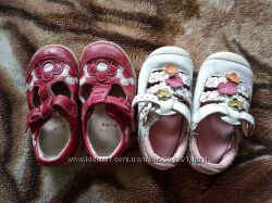 Туфли босоножки Кларкс 4, 5 размер, кожа, для девочки