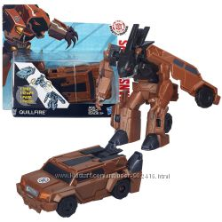 Hasbro. Transformers. Трансформеры Роботс-ин-Дисгайс Уан-Стэп Quillfire