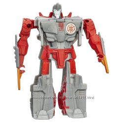 Transformers Robots in Disguise One-Step Changers Ninja Blade Sideswipe.