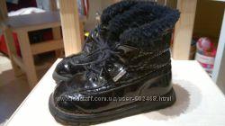 Французские ботинки на набивной овчине Babybotte