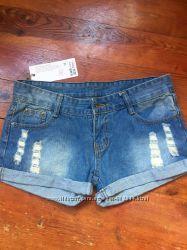 Шорты джинсовые, размер S-M
