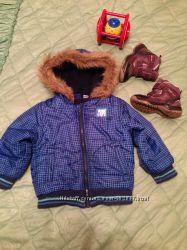 Куртка с капюшоном 86-92рост на 2, 5-4, 5года Германия.