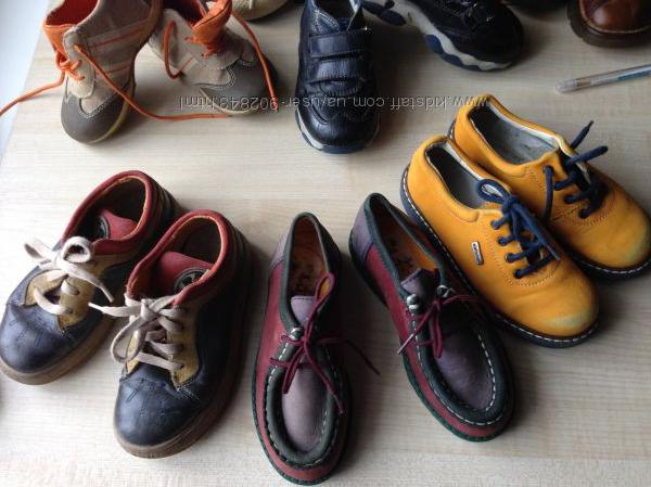 Обувь на ребёнка -25-26-27-28размер. Германия Англия