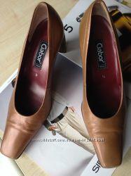 Туфли кожаные 37-37. 5р. GABOR Австрия 5размер