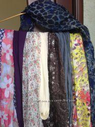 Шарфы разные, платок. накидка на плечи, палантин. шаль  Германия