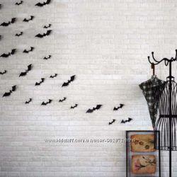 Набор летучих мышей на Хелоуин