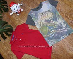 Модные и стильные футболки на 6-8 лет Rebel , Next.