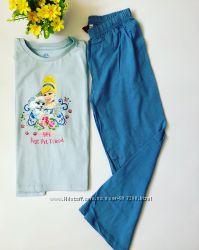 Пижамы Disney на девочку 4-5 лет и 6-7 лет