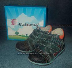 Кожаные ботинки осень-весна ТМ Calorie мальчику 26 р
