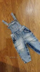 Джинсовый комбинезон на лето Gloria jeans 6-9 мес  OshKosh