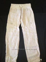 Штаны для беременной 46р, лен