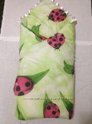 Конверт-одеяло с матрасиком и подушечкой для новорожденного