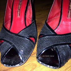 нарядные летние туфли