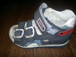 Кожаные ортопедические босоножки для мальчика Kemal Pafi