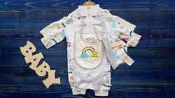 Набор-Комплект для малыша из 6 предметов Primark
